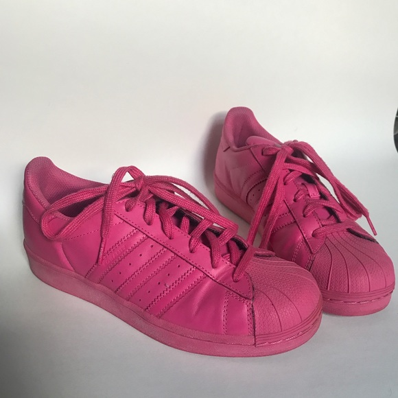 lower price with 0a0b3 40b9c adidas Shoes - Pink Pharrell Adidas Superstar Supercolor